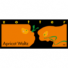 Zotter Apricot Waltz Milk Chocolate Bar 70g